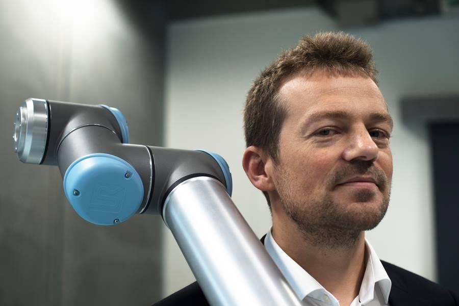 Resultado de imagen para Esben Østergaard, CTO y cofundador deUniversal Robots