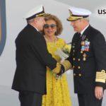 """El Secretario de Marina recibe condecoración """"Hornor al Mérito Naval Comandante Pedro Campbell"""""""
