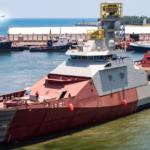 Avanza el proyecto de construcción de la patrulla oceánica de largo alcance con la recepción del segundo módulo fabricado en Holanda