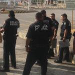 Policías Federales reciben capacitación de PEMEX sobre inspección física y documental de autotanques.