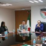 El Secretario Ejecutivo del Sistema Nacional de Seguridad Pública y la Secretaría de la Función Pública revisan la forma de distribuir los recursos para la seguridad en los estados.