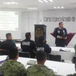Policía Federal capacita como primer respondiente a militares, policías estatales y municipales de Tabasco