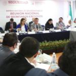 Sesiona la primera reunión nacional de Secretarios Ejecutivos de los Consejos Estatales de Seguridad Pública 2019
