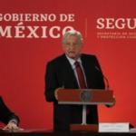 Por primera vez el presidente Andrés Manuel López Obrador encabezó la sesión del Consejo Nacional de Seguridad Pública
