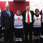Alfonzo Durazo hizo un llamado a los funcionarios de la SSPC para ayudar de manera voluntaria a la Cruz Roja