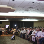 """Alfonso Durazo en la conferencia """"La Importancia del Sector Empresarial en la Seguridad Pública"""""""