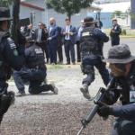 Personal de U.S. Marshals visita instalaciones de la Policía Federal en la Ciudad de México