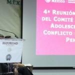 El Órgano Administrativo de Prevención y Readaptación Social participó en la cuarta reunión nacional del Comité Técnico de Adolescentes en Conflicto de Ley