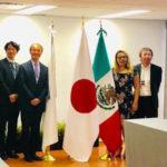 Instauración de mesa de trabajo México-Japón en materia de seguridad