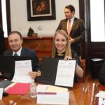 SSPC firma convenio de la colaboración con CEEG para impulsar acciones conjuntas para abatir la inseguridad