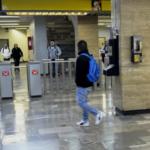 Guardia Nacional realiza revisiones en estaciones del metro en la Ciudad de México