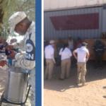 En Sonora, Guardia Nacional auxilia a 78 migrantes que viajaban en tren de carga