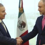 Alfonso Durazo tomó protesta a Alejandro Robledo como subsecretario de planeación, prevención, protección civil y construcción de paz
