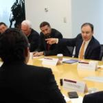 Con el apoyo de los empresarios redoblaremos los esfuerzos para trabajar por la seguridad: Alfonso Durazo