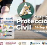 Se abre convocatoria para participar en la Carrera de Protección Civil 2019 para conmemorar los sismos de 1985 y 2017