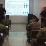 La SSPC capacita a Guardia Nacional y Marina en temas de proximidad social, en Quintana Roo