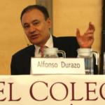 Alfonso Durazo expone la estrategia de Seguridad Pública en el Colegio de México
