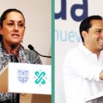 Mitofsky: Mauricio Vila y Claudia Sheinbaum entre los gobernadores mejor evaluados en México