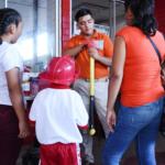 La CNPC fortalece la cultura de Protección Civil en Feria de Coatzacoalcos, Veracruz