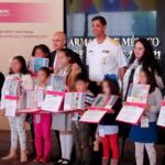Premian Marina y Protección Civil a niñas y niños por concurso de dibujo sobre perros rescatistas
