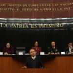 La paz y la tranquilidad sólo pueden ser fruto de la justicia: Alfonso Durazo