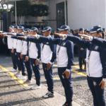 Abanderan a atletas del Servicio de Protección Federal que competirán en los juegos latinoamericanos de Policías y Bomberos 2019