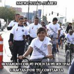 """Todo un éxito el evento ciclista """"Rodando con mi Policía"""""""