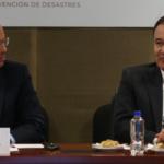 Alfonso Durazo encabeza reunión con coordinadores regionales de Protección Civil