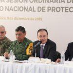 Rinde Alfonso Durazo informe al frente del Consejo Nacional de Protección Civil