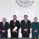 En proceso histórico, se nombra a nuevo titular de la Policía Federal Ministerial y Equipo a Estratégico