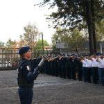 Se incorporan 199 policías de Protección Federal para brindar seguridad a los bienes de la nación