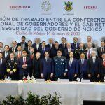 Conferencia Nacional de Gobernadores y el Gobierno de México en Materia de seguridad