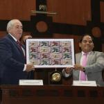 Conmemoran tercer aniversario del 9-1-1 con billete de lotería y convenio de colaboración entre SSPC y Cruz Roja Mexicana