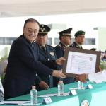 Alfonso Durazo encabezó la graduación de nuevos elementos de la Guardia Nacional