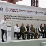 Hay 11 mil jóvenes capacitados en el ámbito de la Protección Civil en todo el país; la meta es llegar a 40 mil: Alfonso Durazo