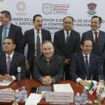 Gobernadores ratifican la suma de esfuerzos políticos en favor de la seguridad pública