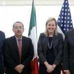 Refrendan el compromiso de diálogo y cooperación en materia de seguridad