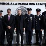 Alfonso Durazo Montaño toma protesta a Manuel Espino Barrientos como comisionado del servicio de Protección Federal