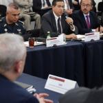 Acuerdan México y EU fortalecen fronteras contra el tráfico de armas y droga