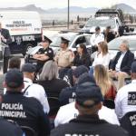 El SESNSP entrega a Hermosillo vehículos para la seguridad pública y la atención