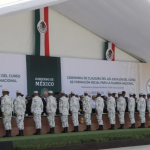 Ceremonia de clausura del Cuarto Escalón del Curso de Formación Inicial para la Guardia Nacional