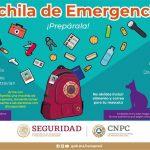 La CNPC invita a los mexicanos a prepararse ante cualquier emergencia