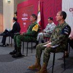 El Comandante de la Guardia Nacional presenta avances en materia de Recursos Humanos y Materiales