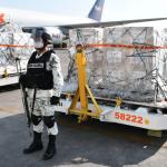 Mantiene Guardia Nacional trabajos de seguridad para el traslado de equipos e insumos médicos destinados a la atención hospitalaria