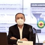 Llama Durazo a mantener una coordinación permanente ante la temporada de ciclones tropicales y lluvias 2020