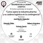 """""""Como opera la industria pharma y su cadena logística en la contingencia"""""""
