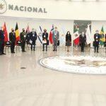 Guardia Nacional entrega reconocimientos a agregados y enlaces de policía y seguridad acreditados en México que concluyen su cargo