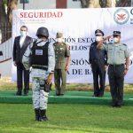 Rinde protesta Osvaldo Béjar Méndez como Coordinador Estatal de la Guardia Nacional en Morelos
