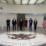 Guardia Nacional fortalece cooperación bilateral en materia de seguridad con autoridades de Estados Unidos
