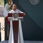 Estamos por recuperar la paz y la tranquilidad y ningún obstáculo va a vencernos: Alfonso Durazo